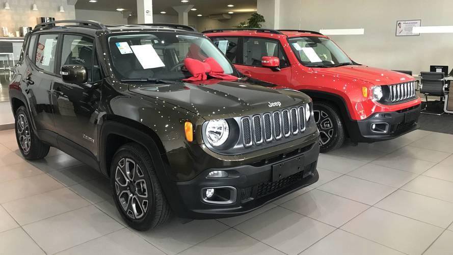 Jeep Renegade tem porta-malas ampliado para 320 litros