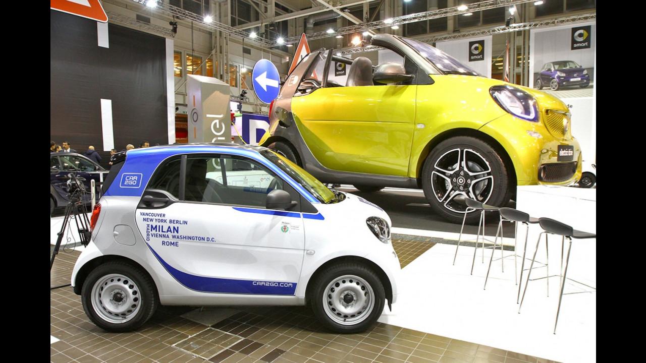 smart al Motor Show di Bologna 2016