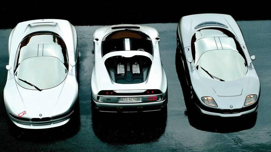 1991 BMW Nazca M12, 1992 C2 Coupe, 1993 C2 Spider: Concept We Forgot