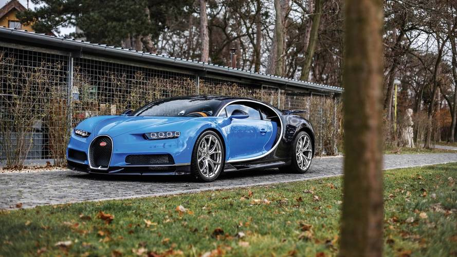 Already There's A Bugatti Chiron Heading To Auction [37 Images]