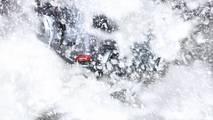 Mercedes-Benz G-Class Snow Teaser