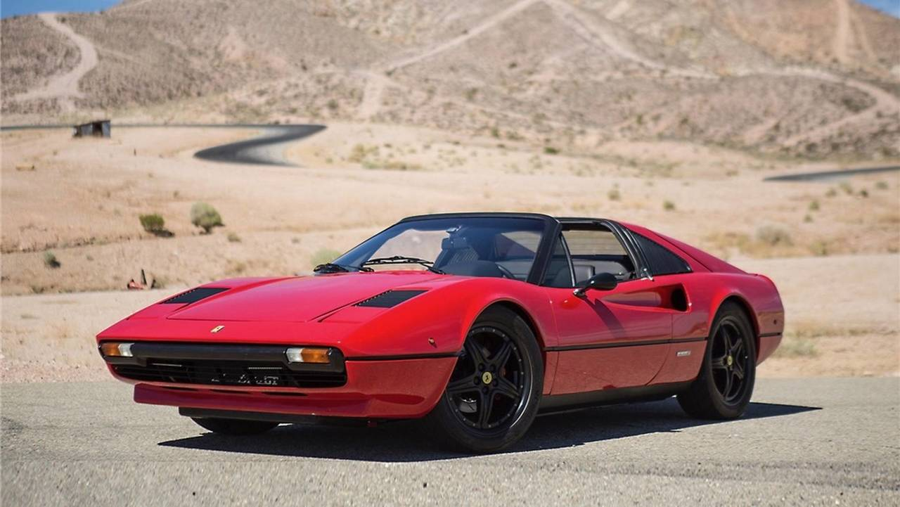 Electrified 1976 Ferrari 308 GTS