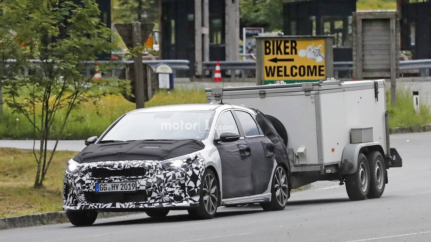 2019 Kia Ceed GT new spy photos