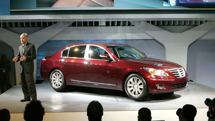 Hyundai Genesis Makes World Debut at 2008 NAIAS