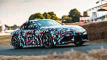 Toyota Supra A90 at Goodwood