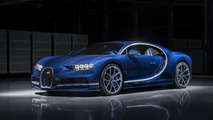 Bugatti Chiron in Bleu Royal