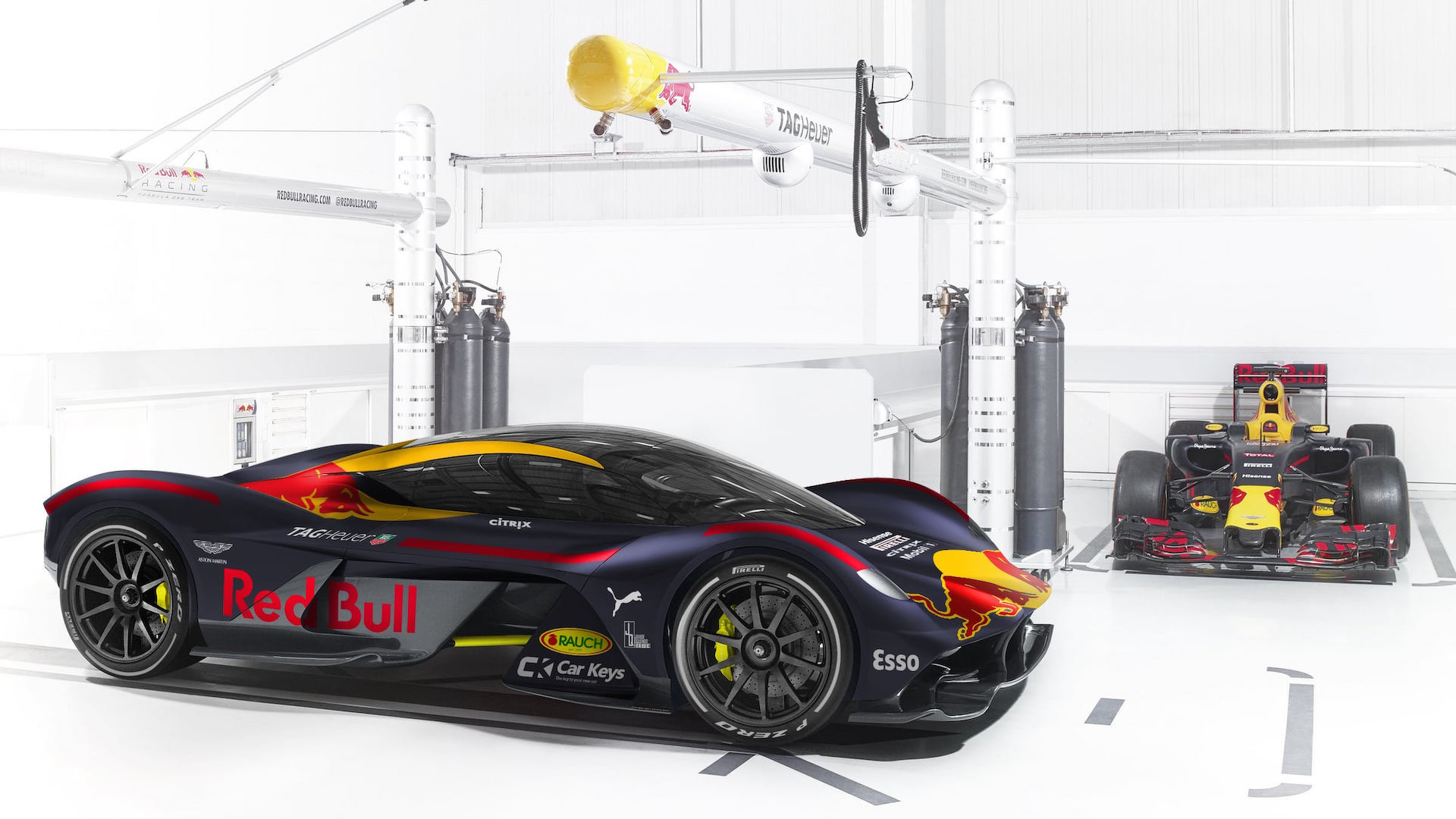 2017 Acura Nsx For Sale >> Check Out The 2017 F1 Paint Jobs On Their Production Counterparts