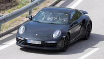 Porsche 911 Turbo 992 Spy Photos