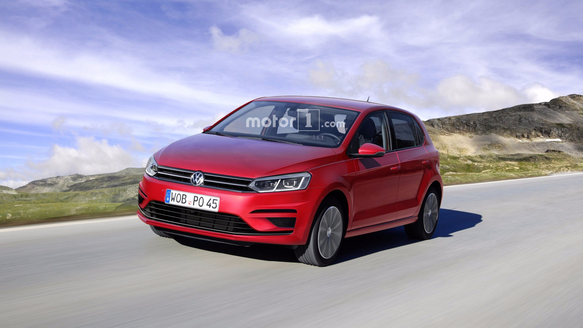 will the 2018 vw polo will look like this render. Black Bedroom Furniture Sets. Home Design Ideas