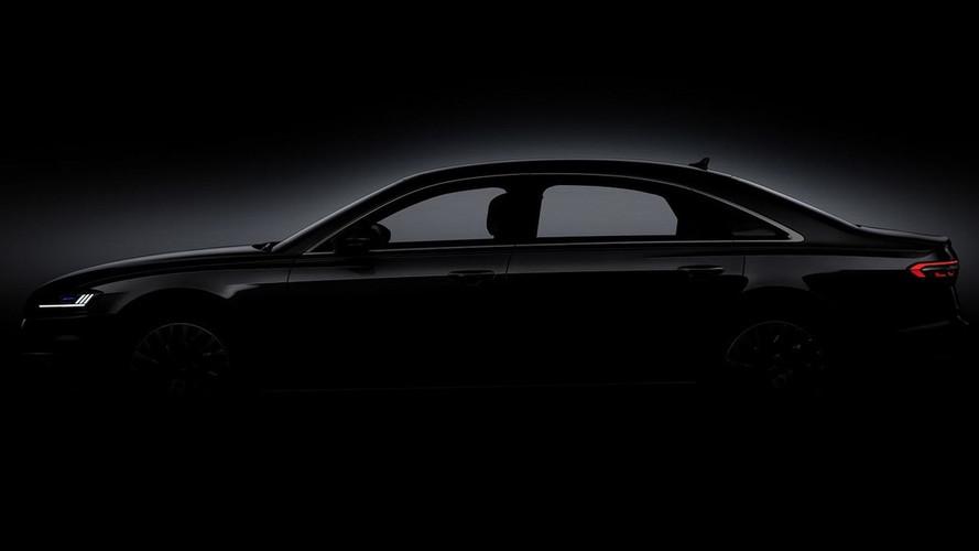 Novo Audi A8 se apronta para estreia na semana que vem