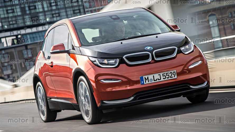 Voici à quoi pourrait ressembler la BMW i3 restylée