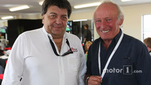 Tony Teixeira, A1GP Chairman with Ex F1 Driver Chris Amon