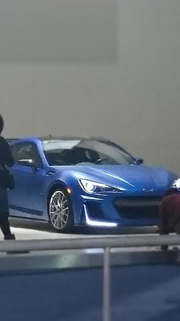 Mistery Subaru BRZ at New York Auto Show