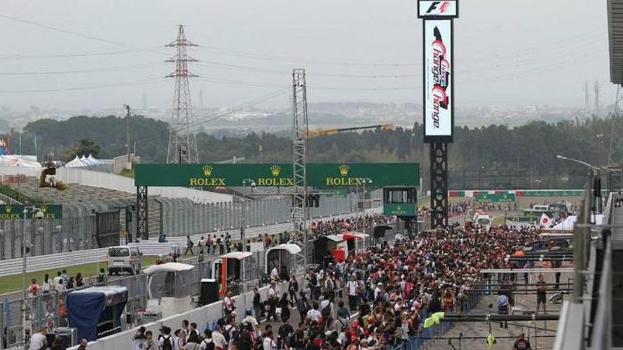 Typhoon threatens Japan GP