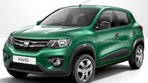 Dacia KWID render
