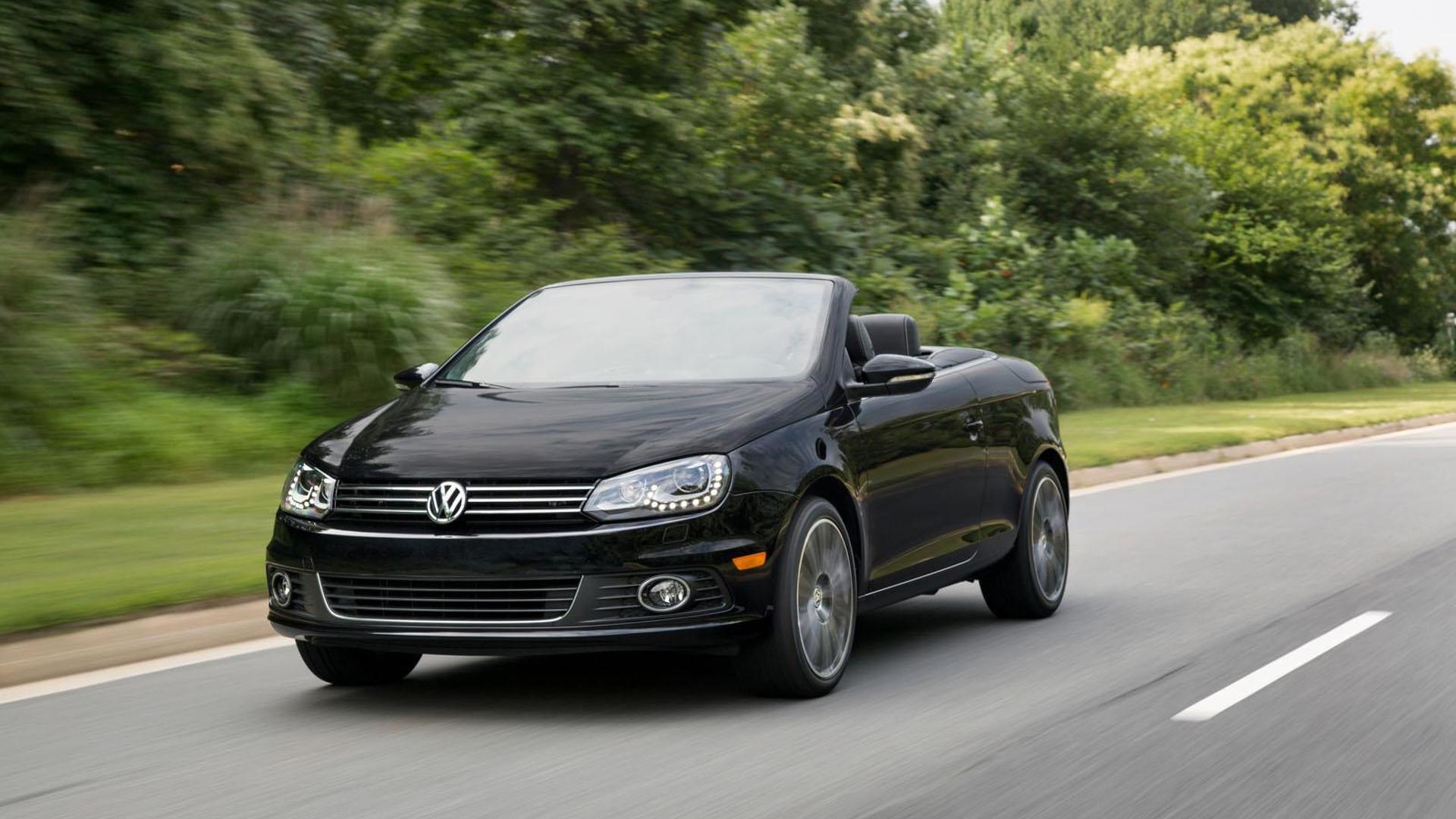 Кабриолет Volkswagen Eos Final Edition