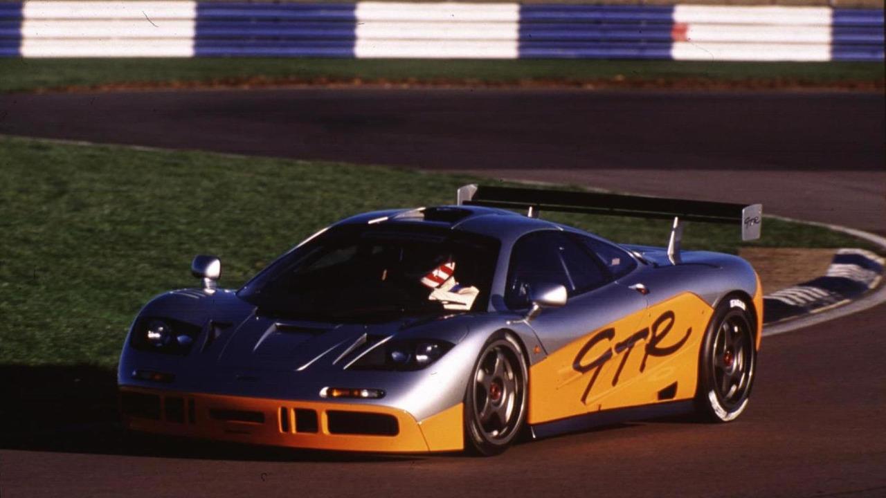 McLaren P1 GTR design concept and F1 GTR
