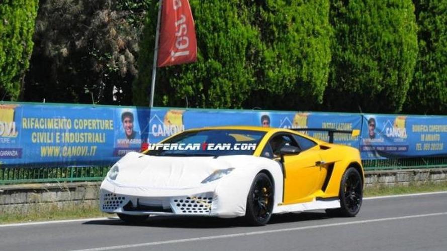 Mysterious Lamborghini Gallardo prototype spied in Italy