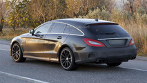 2015 Mercedes CLS & CLS 63 AMG Shooting Brakes spied with minor changes