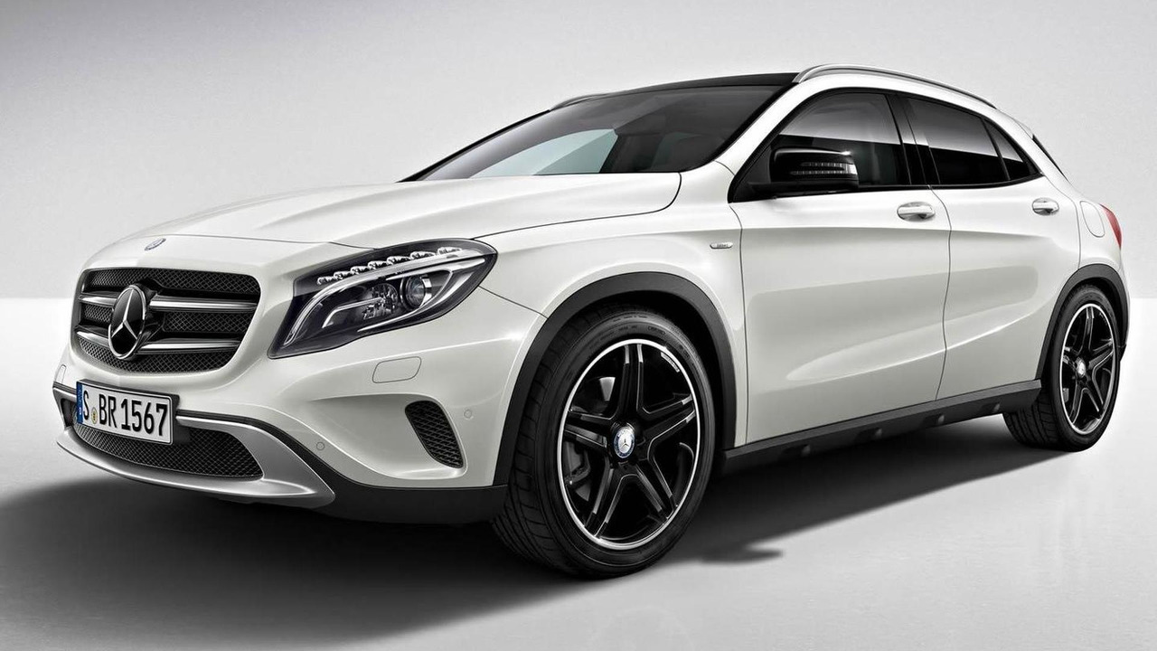 Mercedes-Benz GLA Edition 1 17.09.2013