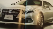 2013 Toyota Crown leaked photo 05.10.2012
