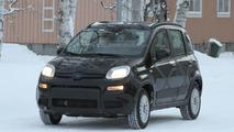 2012 Fiat Panda 4x4 winter testing spy photo