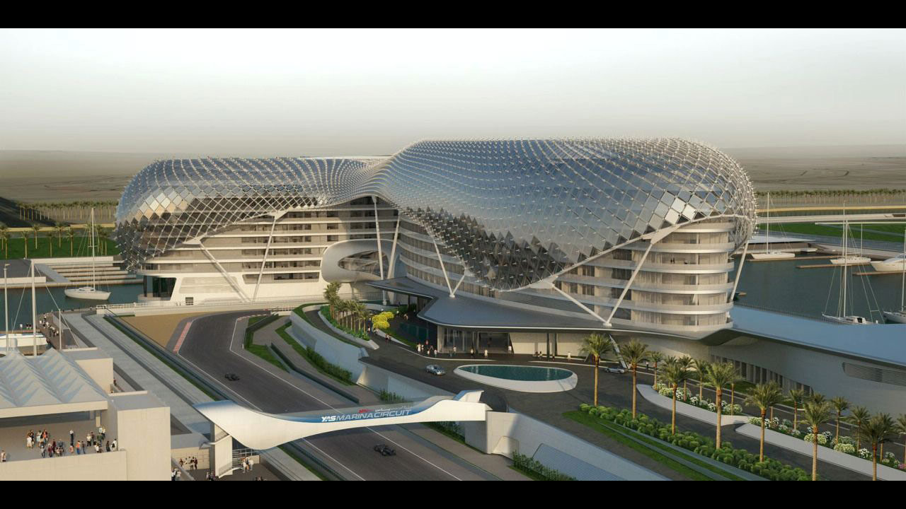 Lo Yas Hotel ad Abu Dhabi
