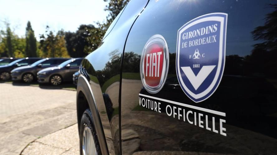 Fiat Tipo voiture officielle des Girondins de Bordeaux