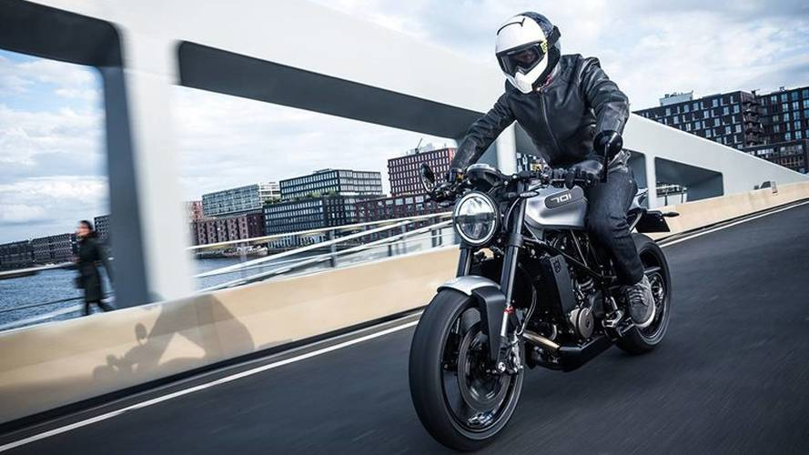 Husqvarna Unleashes 701 Vitpilen and Svartpilen Street Bikes