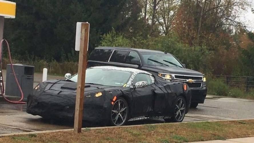 2019 Chevrolet Corvette Spy Photo
