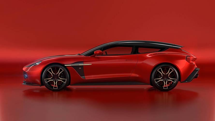 Aston Martin Vanquish Zagato Shooting Brake first look