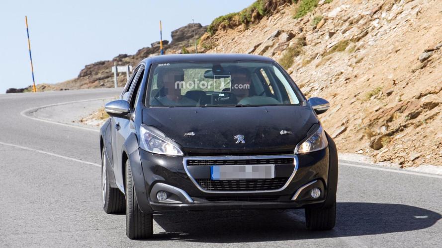 Peugeot 208 - Mula de testes