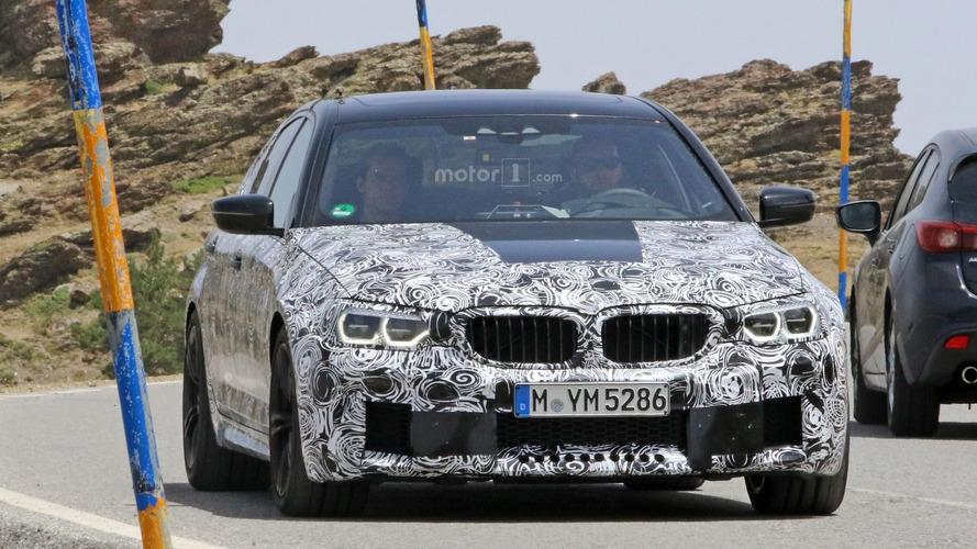 VIDEO - La nouvelle BMW M5 s'affute sur le Nürburgring