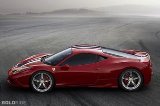 Ferrari Drops Details on 597HP 458 Speciale