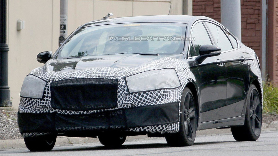 Ford Fusion ST spied, could have 300+ bhp