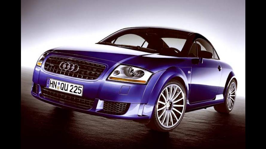 Scharfer Nachwuchs Audi TT quattro sport: Nimm es leicht