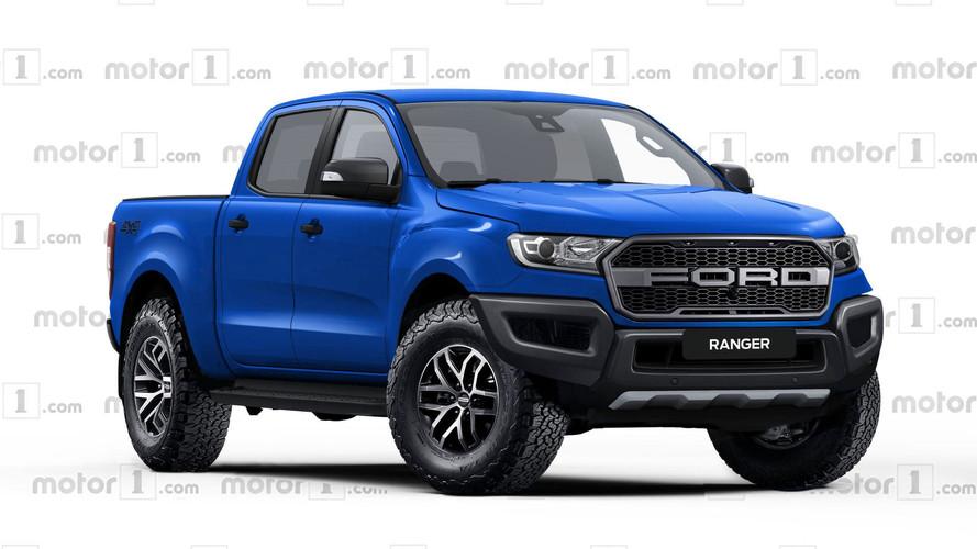Projeção - Veja como será a invocada Ford Ranger Raptor