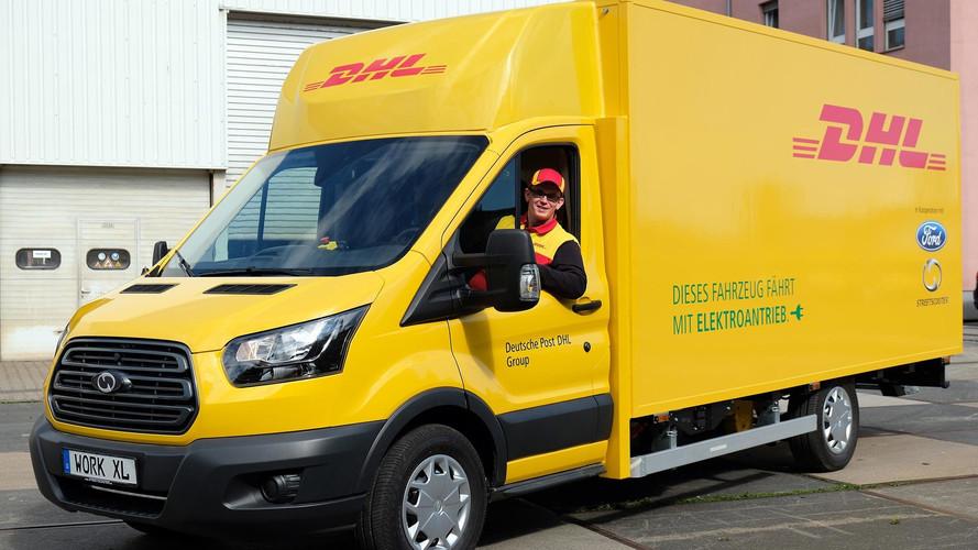 Elkészült a Deutsche Post DHL Csoport és a Ford első StreetScooter WORK XL áruszállítója