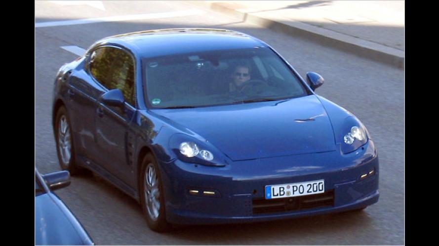 Porsche Panamera: Luxus-Coupé langsam entblättert