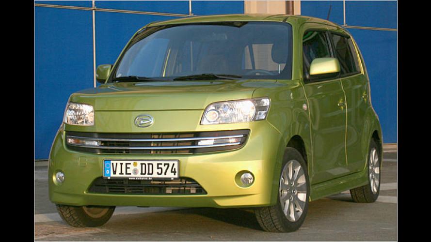 Daihatsu Materia: Japan-Minivan im eigenwilligen Box-Design
