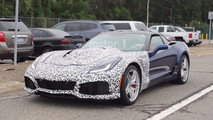 2018 Chevrolet Corvette ZR1 Near Production Spy Photos