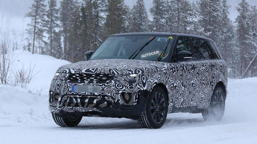 Le futur Range Rover PHEV (2018) débusqué !