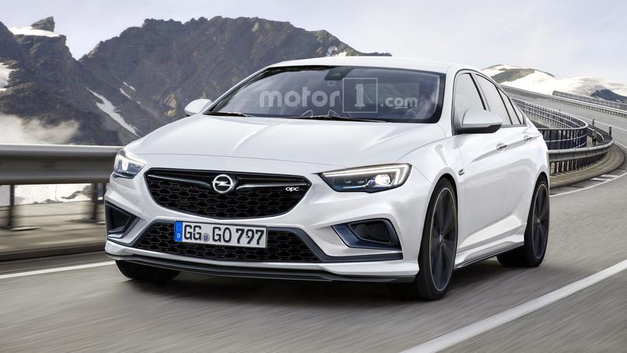2018 Opel Insignia OPC rendering