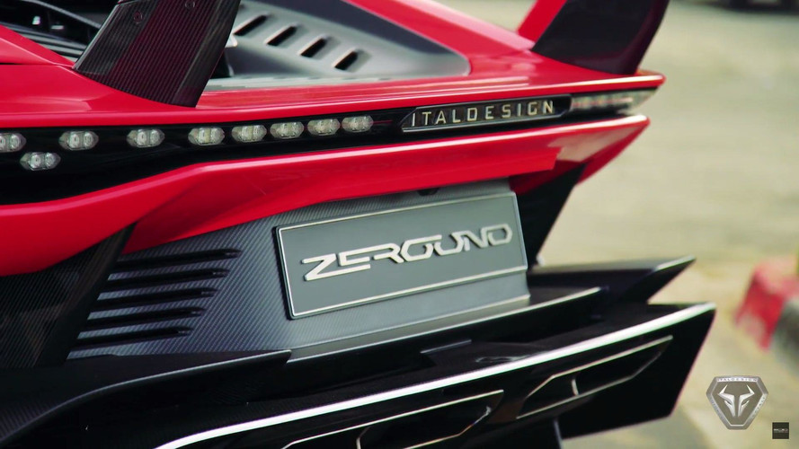 Nouvelles images — Italdesign Zerouno Roadster