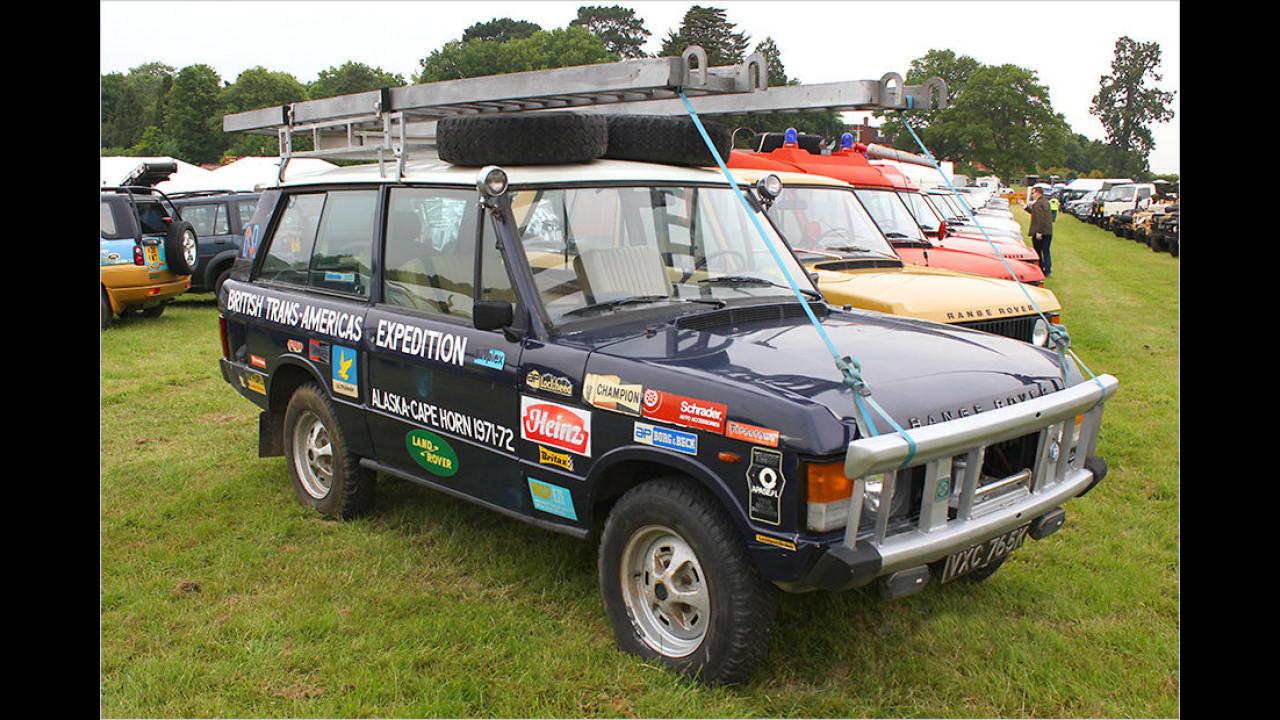 Range Rover Trans-Amerika-Expedition (1971)