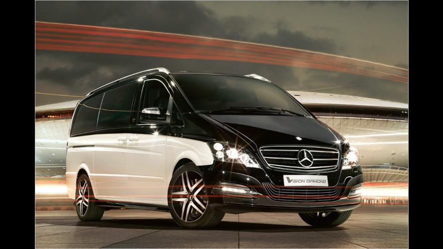 Luxus-Van als Chauffeursfahrzeug