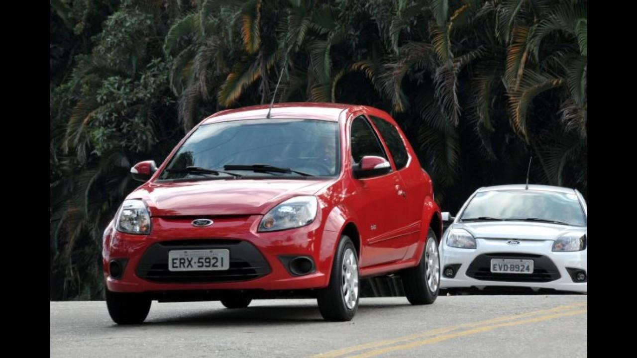Estamos no lançamento do Novo Ford KA 2012
