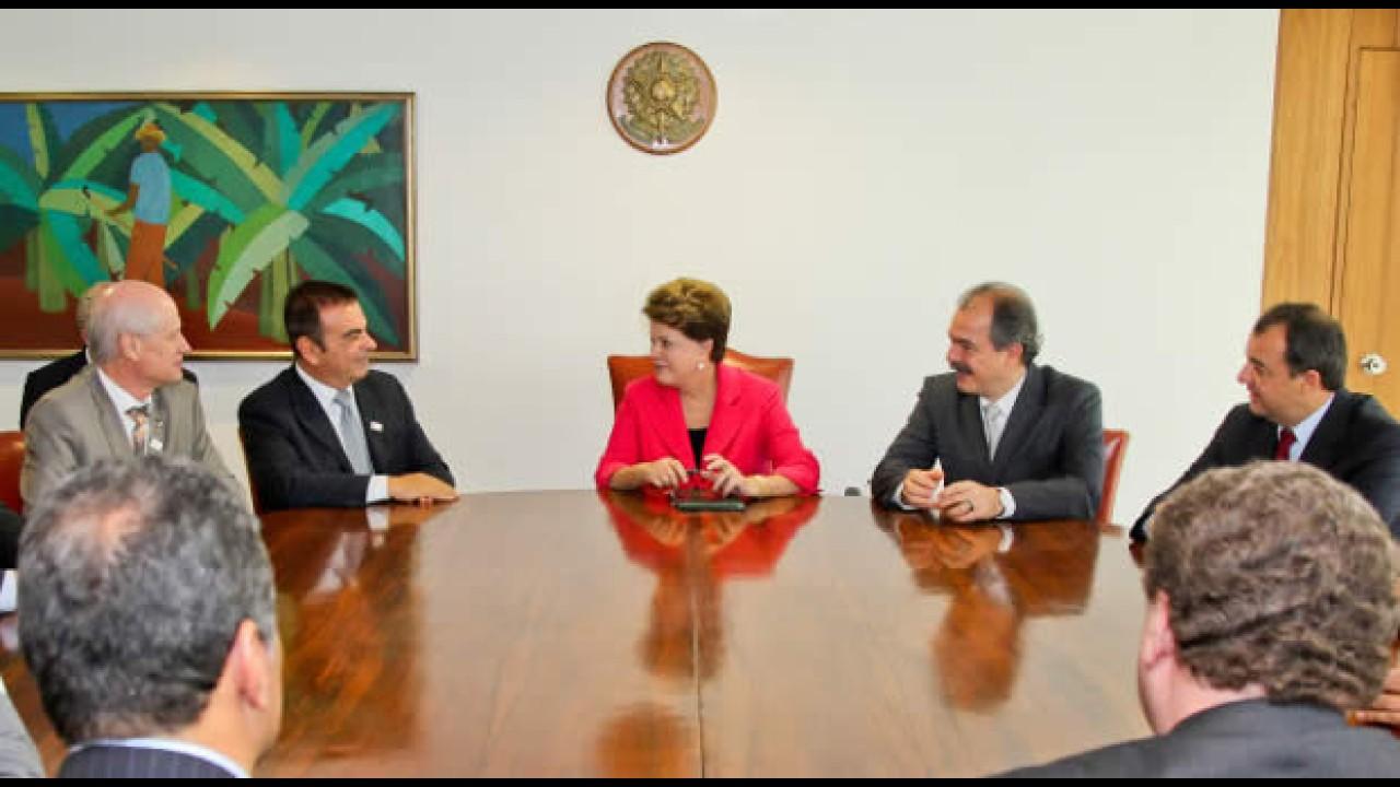 Carlos Ghosn confirma ampliação do Complexo da Renault e nova fábrica da Nissan no RJ