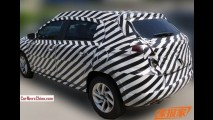 Flagra: versão de produção do Citroën C-XR já roda camuflada na China