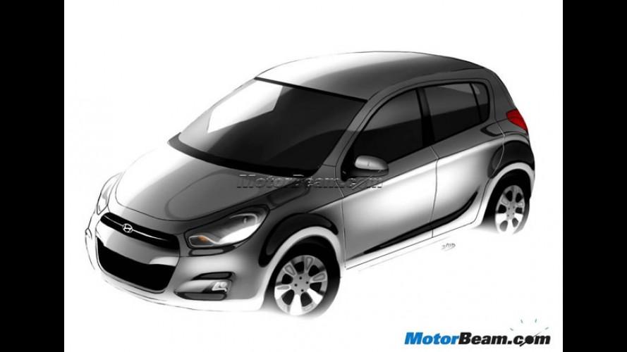 Projeção: Novo Hyundai i20